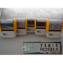 COLOP Printer pieczątka z gumką C40 59x23 mm
